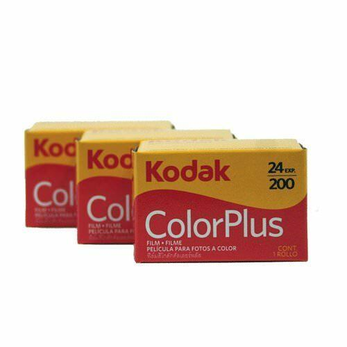 Kodak 35mm Colorplus 200 Asa de película de 24 exposiciones 3 Pack