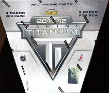 2011/12 PANINI TITANIUM SEALED HOBBY HOCKEY BOX