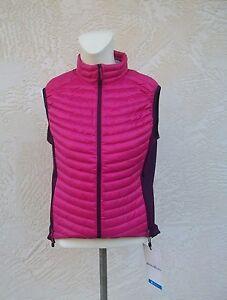 Microtherm femmes de Bauer veste Ascent femmes pour duvet veste en Eddie First Nwt Magenta pour Nouvelle qApXX