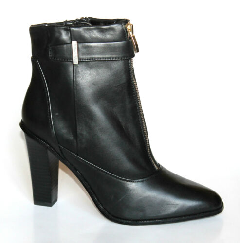 Ankle 38 5 amp;s Zip Boots Ladies Eu M Autograph Heel Leather Black High Up Uk New Yxw6w