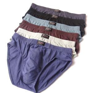 Men 100% Cotton Soft  Breathable Underwear Panties Briefs Boxer plus size M-5XL