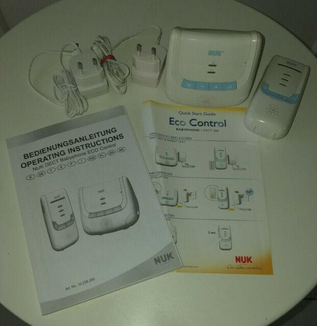NUK 10256266 Eco Control DECT Babyphone