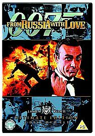 1 of 1 - From Russia With Love Ultimate Edition (DVD, 2006, 2-Disc Set)