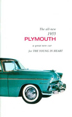 1955 PLYMOUTH PASSENGER CAR OWNER/'S MANUAL