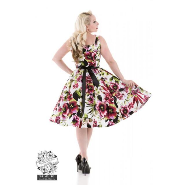 Rockabilly 50s Vintage Formal Evening Swing Dance Pinup Dress AU sz  8 - 26 plus