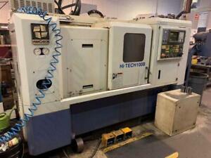 Hwacheon Model Hi-Tech 100B CNC Turning Center Canada Preview