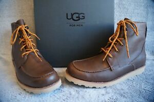7cf5d9cb291 Details about UGG AGNAR WATERPROOF LEATHER BOOTS, Mens US 13, Color:  GRIZZLY, 1017288