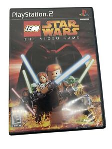 LEGO Star Wars: The Video Game (Sony PlayStation 2, PS2 2005) Tested No Manual