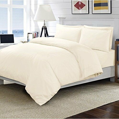 New 100/% Egyptian Cotton Luxury Hotel Quality 200TC Fitted Bed Sheet Bed Cover