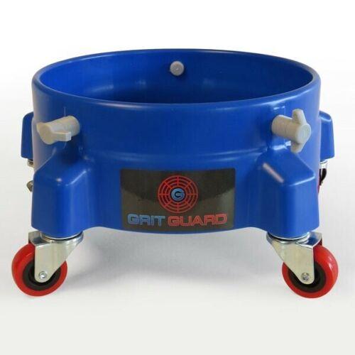 Cubo Azul Dolly de grano Guard maniobra fácilmente Tu Cubo de lavado de coches