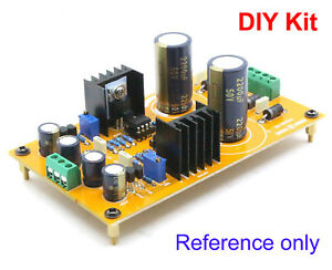 Details about DIY Dual Voltage Adjustable Regulator PSU / Linear Power  Supply kit for preamp