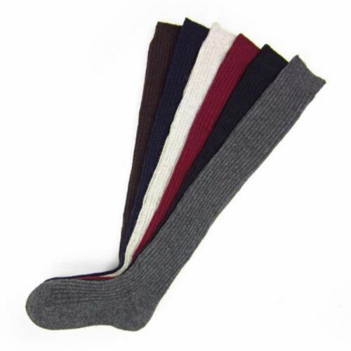 Women Winter Soft Cable Knit Over knee Long Boot Thigh-High Warm Sock Legging FA