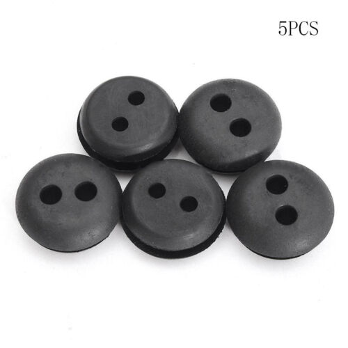 5x 2-Hole Fuel Gas-Tank Rubber Grommet-Replacement For Stihl Husqvarna Homelite