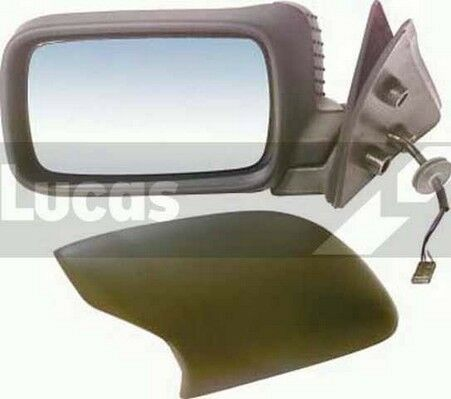 BMW 3 E36 ADP298 90-00 New Lucas Right Black Heated Electrical Door Mirror