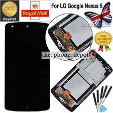 Touch Screen & LCD  Display Digitizer & Frame For LG D820 D821 Google Nexus 5 UK