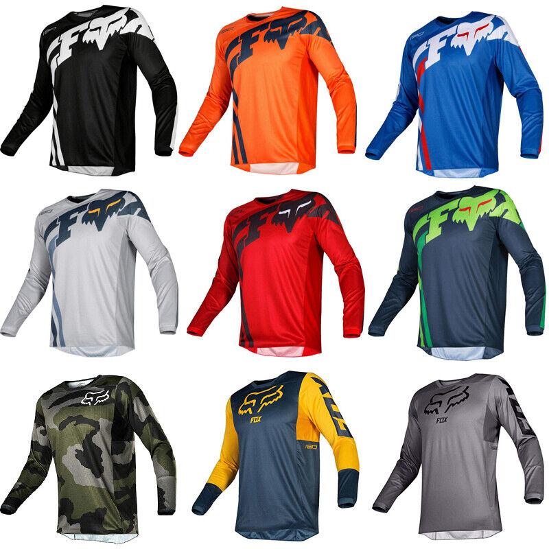 FOX Men Riding Jersey Long Sleeve T-shirts //MX//ATV//BMX//MTB Dirt Bike