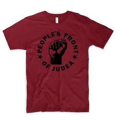 Symbol Der Marke People's Front Of Judea T Shirt Top Life Of Brian Monty Python Not The Messiah Zur Verbesserung Der Durchblutung