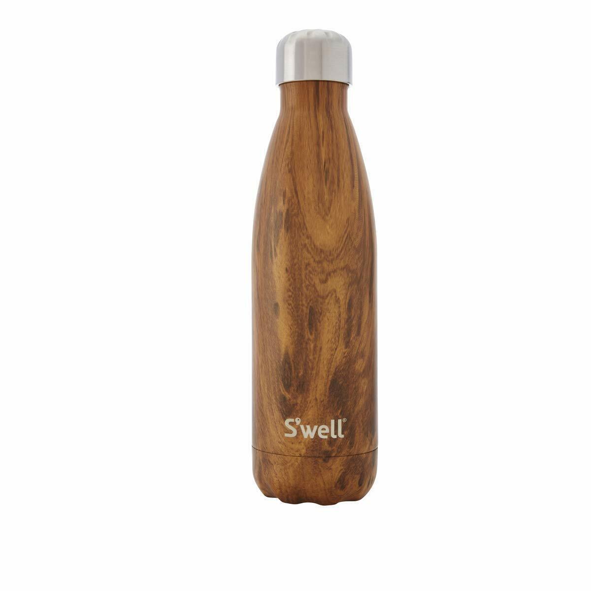 S'well Vacuum Isolierte Edelstahl Wasserkflasche, Fitnesstraining (17oz)