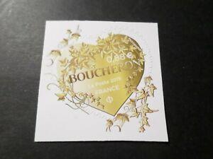 FRANCE-2019-timbre-neuf-AUTOADHESIF-COEUR-BOUCHERON-0-88-SAINT-VALENTIN-MNH