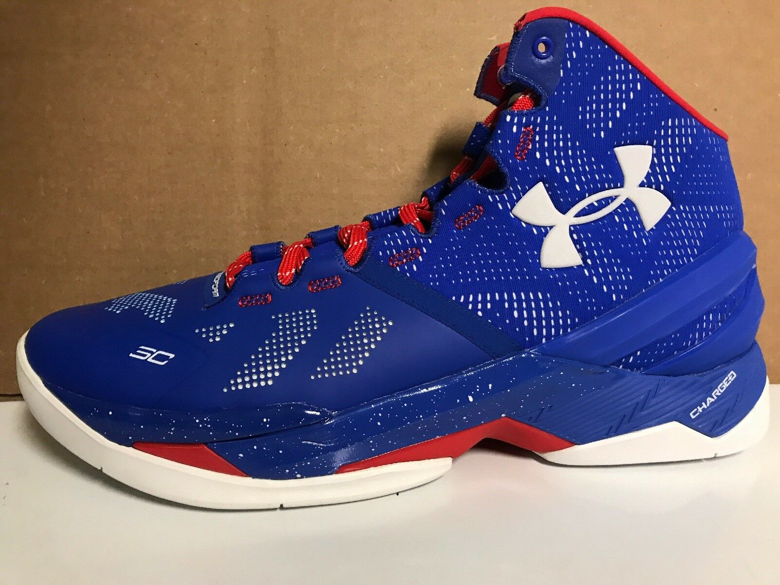 DS Under Armour Armour Armour Curry 2 SC30 Basketball scarpe blu 1259007-401 Dimensione 10.5 edcd2e