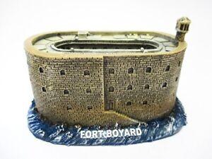 Fort-Boyard-Festung-Atlantik-Frankreich-Poly-Modell-12-cm-Souvenir-Neu