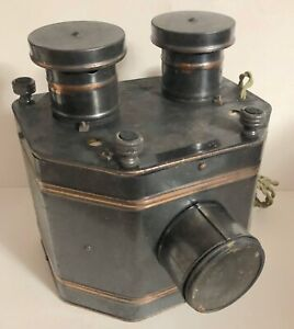 Vintage Radioptican Projector Postcard Viewer ~  H.C. WHITE CO. ~ No. 411