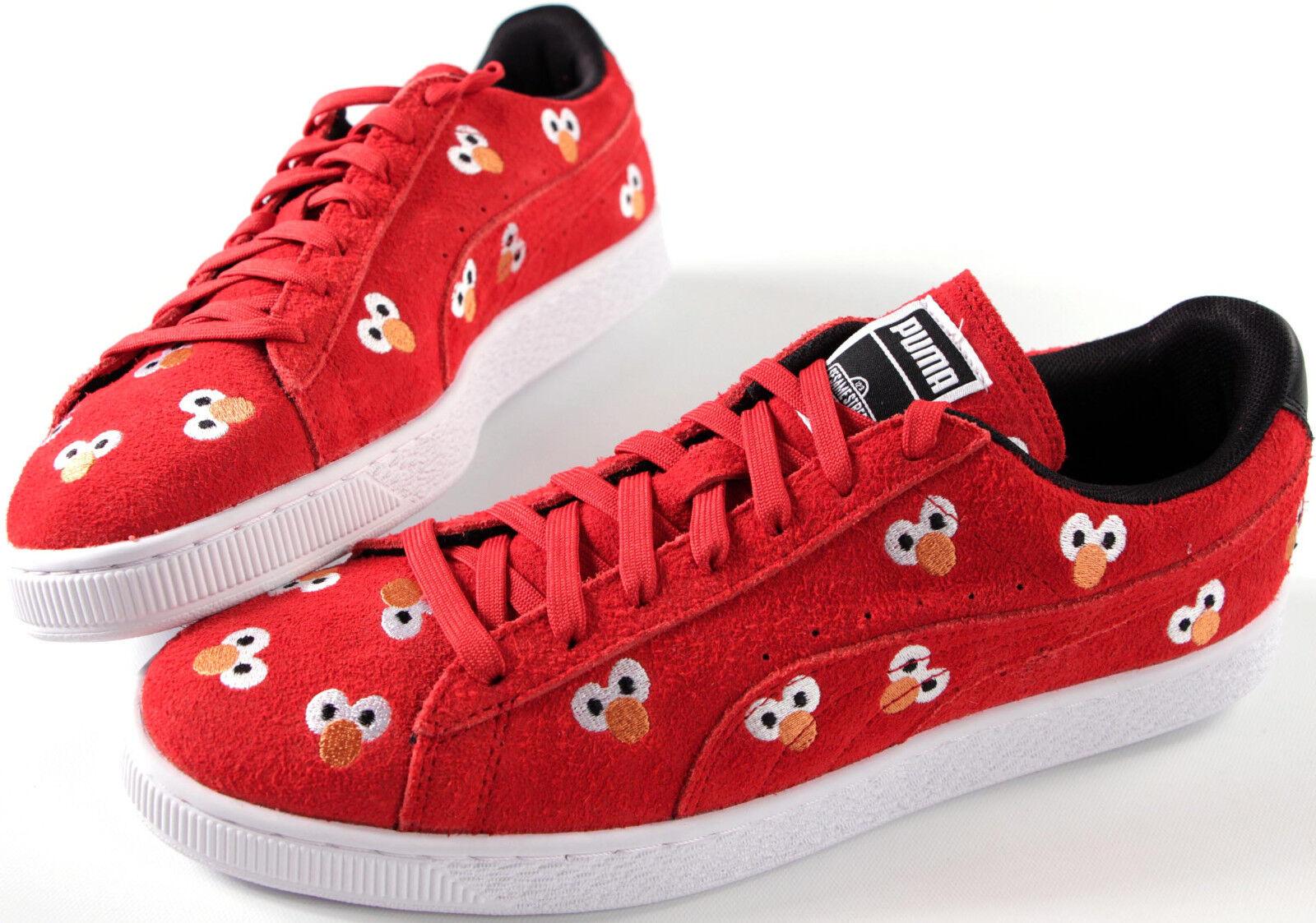 PUMA x Sesame Steet ELMO Suede Classics- 12- NEW- Rare red Shoes /Scarpe da Ginnastica-
