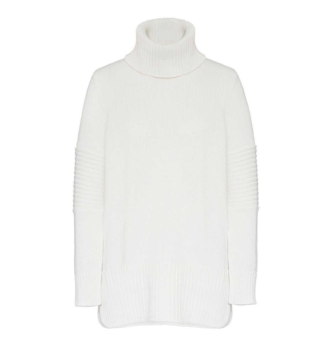 BNWT Elka Collective Katie Knit Jumper White Size XS  AU 6  US 2 RRP  289.00