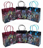 12x Monster High Party Favor Goody Bags Loot Bags Gift Candy Bags