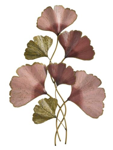 Wanddeko Ginkgo Blätter antikoptik