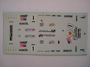 DECALS-KIT-1-43-CADILLAC-LMP-NORTHSTAR-N-1-LE-MANS-2000-DECALS