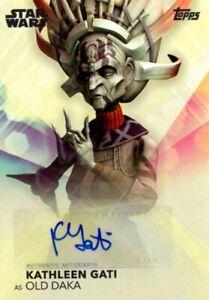 Woman-Of-Star-Wars-Topps-2020-Autograph-Card-Kathleen-Gati-Old-Daka