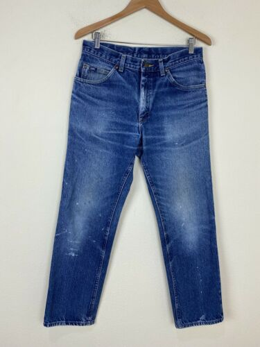VTG 80s 90s LEE Painters Jeans 31x30 ACTUAL Faded