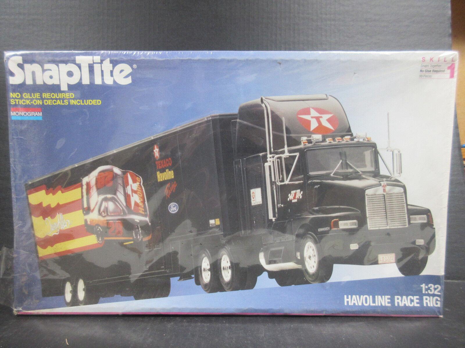 1992 Monogram Monogram SnapTite Havoline Race Rig 1 32th Model Kits