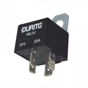Durite-3-727-55-Relay-Mini-Make-Break-40-amp-12-volt-with-Diode-bg100