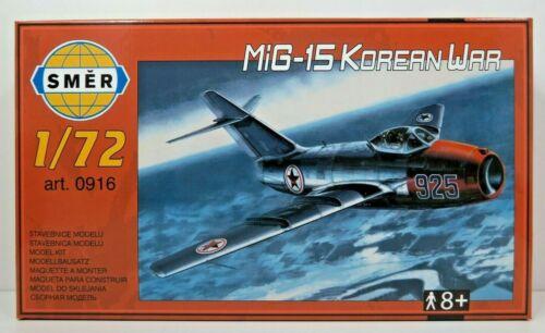 SMER MIG-15 Korea Krieg Kampfflugzeug NEU OVP Bausatz 1:72,0916