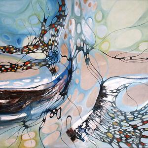 MODERNE-MALEREI-034-COLOURS-SYMPHONY-034-Olbild-Original-Art-von-Bozena-Ossowski