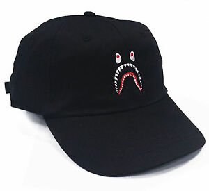 Image Is Loading Shark  Panel Dad Hat Cap  Snapback