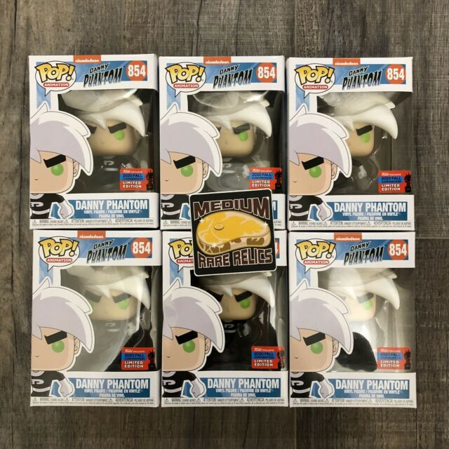 *DAMAGED* Funko Pop Nickelodeon Danny Phantom #854 - NYCC 2020 Shared - In Hand