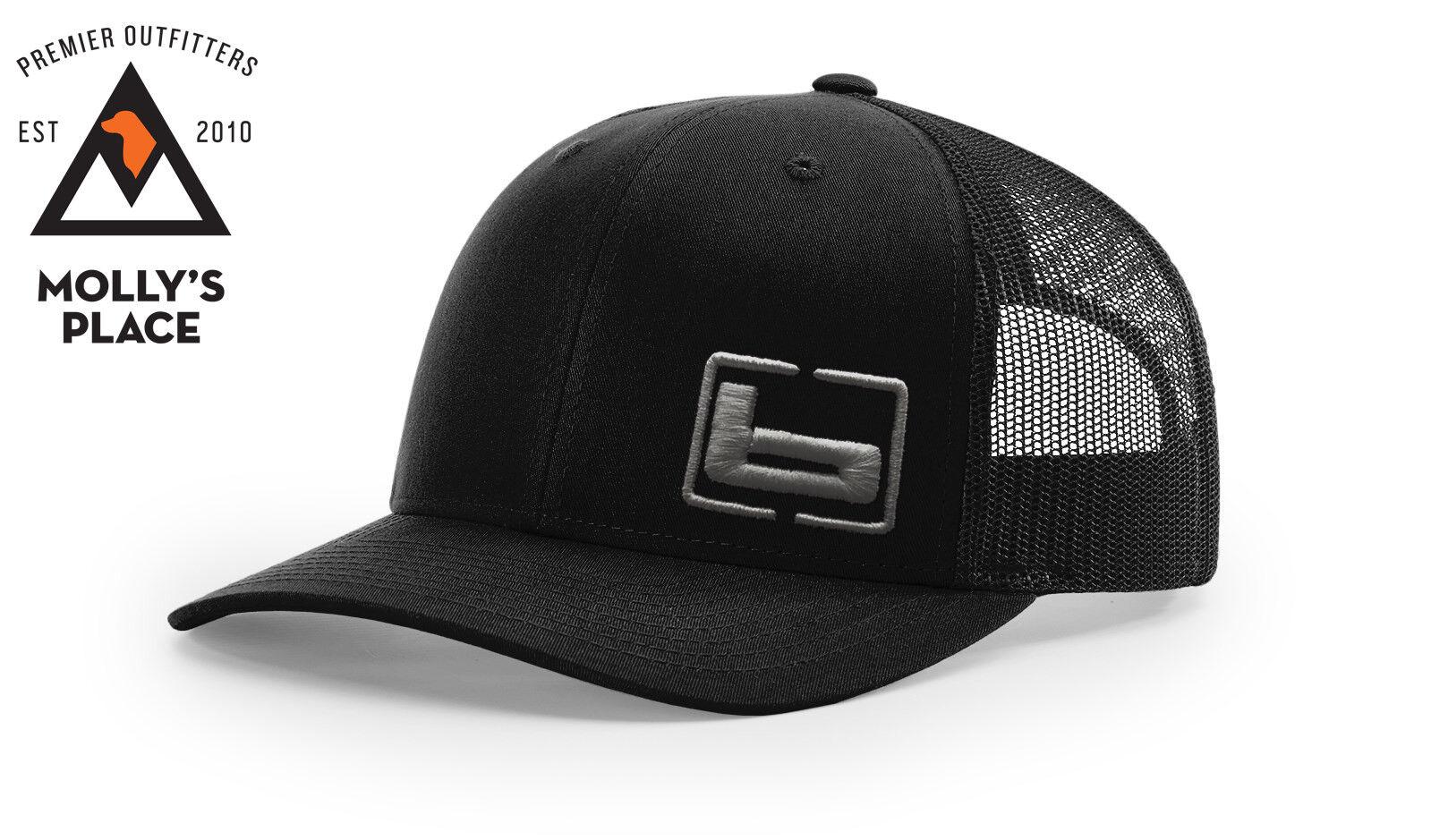 BANDED Gear Trucker Cap Hat Black Gray W