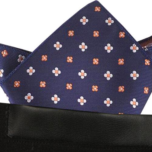 blu con mini Floreale//Fiore uomo fazzoletto da taschino Fazzoletto PARTY Fazzoletto T22