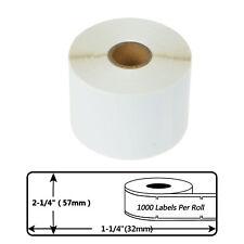 1 50rolls 30334 Label Tape 2 14 X 1 14 For Dymo Labelwriter 330 450 Turbo