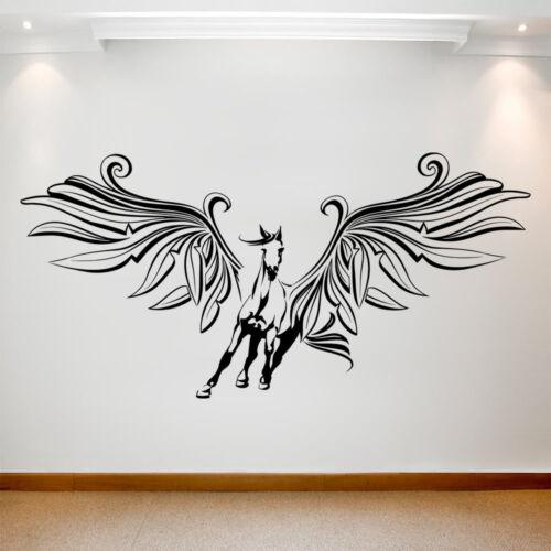 Large Wall Decal Sticker Art Removable Waterproof Vinyl Transfer Pegasus 19-027