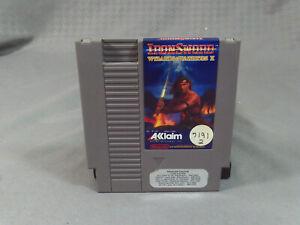 Ironsword-Wizards-amp-Warriors-II-NES-Nintendo-Entertainment-System-1989-W-Sleeve
