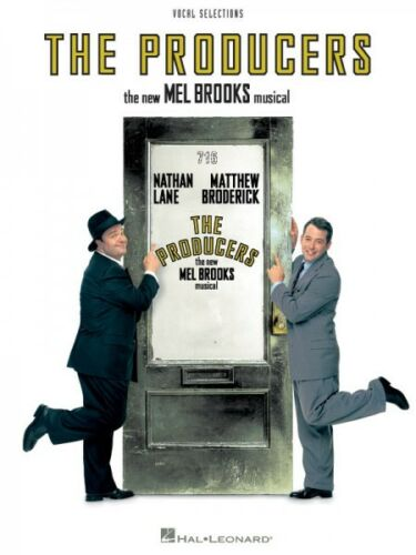 The Producers Sheet Music Voice Line with Piano Accompaniment Format V 000313189