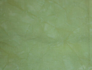 Hand-dyed Aida Cloth-Lapis-11 Count thru 18 Count DMC cross-stitch fabric