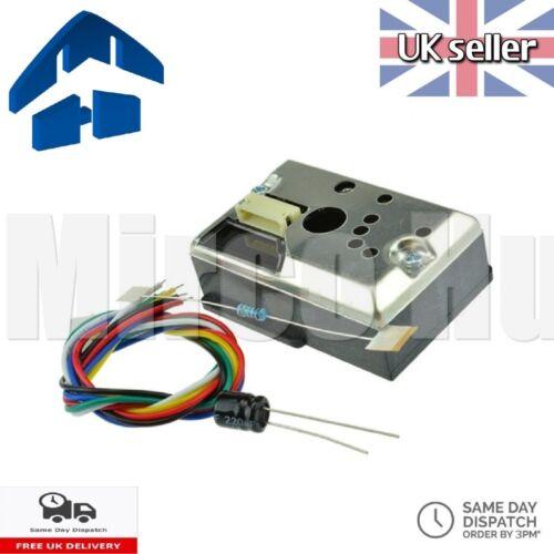 GP2Y1010AU0F Dust Smoke Particules Air Moniteur Capteur Module pour Arduino Pi Sharp