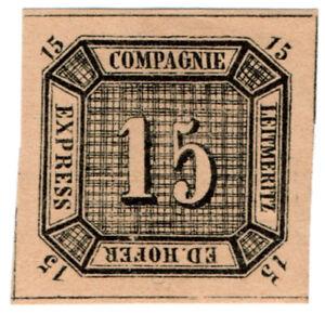 I-B-Germany-Local-Post-Express-Packet-Post-15nkr-Ed-Hofer