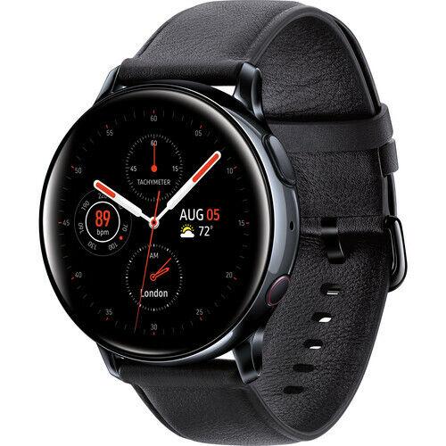 Brand New Samsung Galaxy Active 2 40mm LTE Stainless Steel Smartwatch - Black 40mm active brand Featured galaxy lte new samsung smartwatch stainless steel