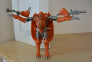 Vintage 1996 Hasbro Transformers Beast Wars Armordillo action figure complete